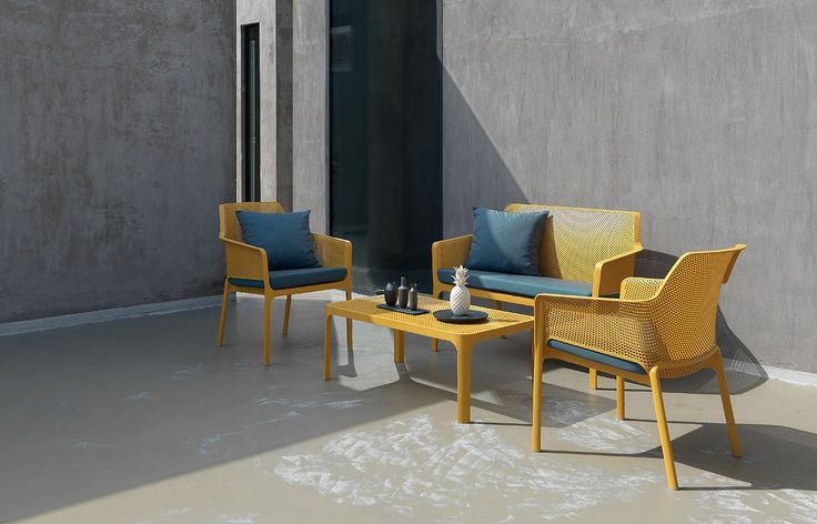 #Nardi Net Collection - Comfort and Classy by #patios India #outdoors #furnituredesign #furniture #outdoorfurniture #patio