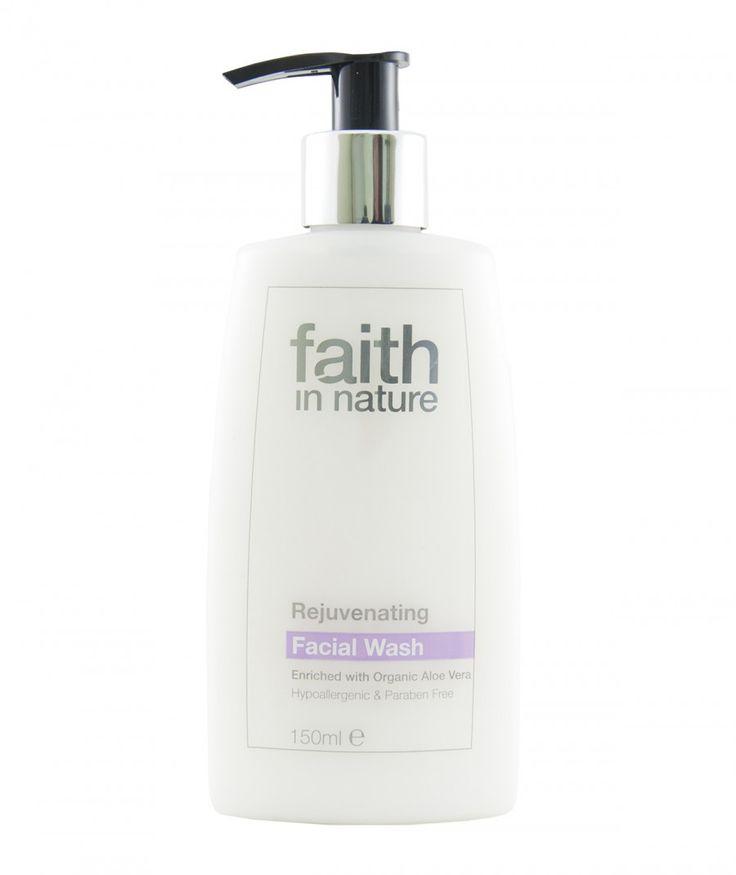 Lait nettoyant visage à l'Aloe Vera bio vegan - Faith in Nature - 150ml