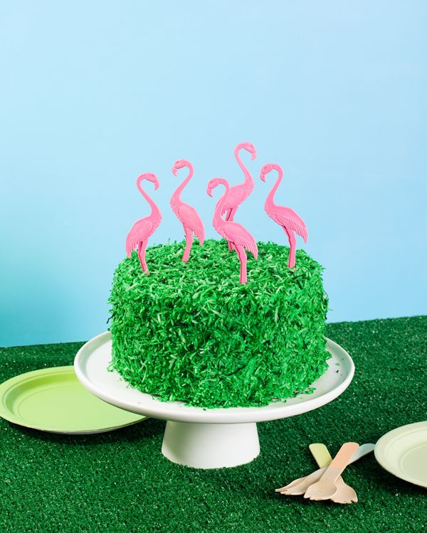 Flamingo Lawn Cake & a Giveaway! | Oh Happy Day! | Bloglovin'