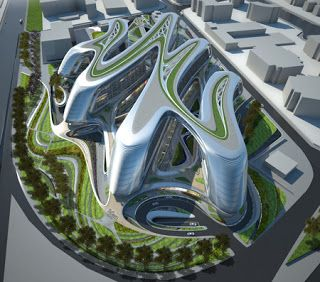 My Best Designer Architect Sky SOHO Zaha Hadid