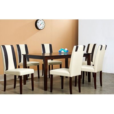 Table See More Warehouse Of Tiffany Savana 7 Piece Dining Set