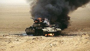 "TIL ""the last great tank battle of the 20th century"" took place in the middle of nowhere in the Iraqi desert. Since there were no nearby towns or landmarks the Battle of 73 Easting had to be named after its map coordinates."