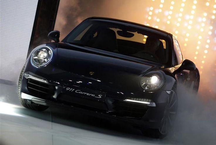 Porsche 911 991 Carrera Frankfurt Debut