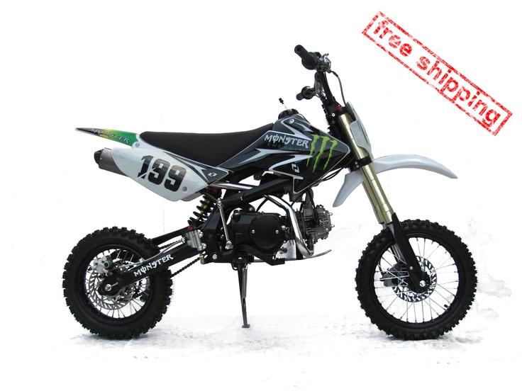 "Mikilon Motocross Dirtbike 125cc ""Free SHIPPING"""