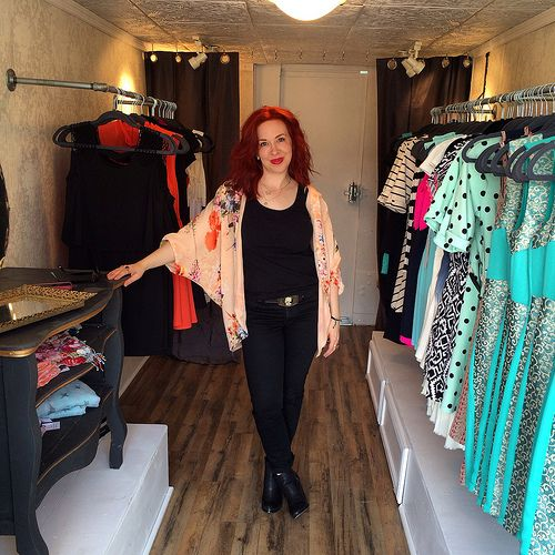 On the Henny Penny Mobile Boutique