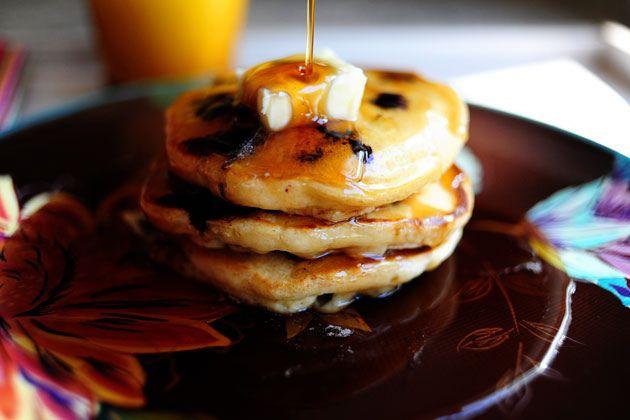 Lemon Blueberry Pancakes by Ree Drummond / The Pioneer Woman