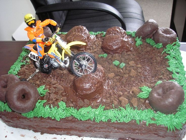 dirt bike cakes | Dirt Bike — Childrens Birthday Cakes