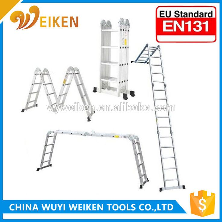 new design thick wall the highest quality multi purpose ladder