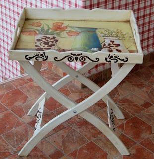 inspiraciones para una mesa auxiliar