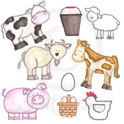 Farm Animals Quilt Pattern
