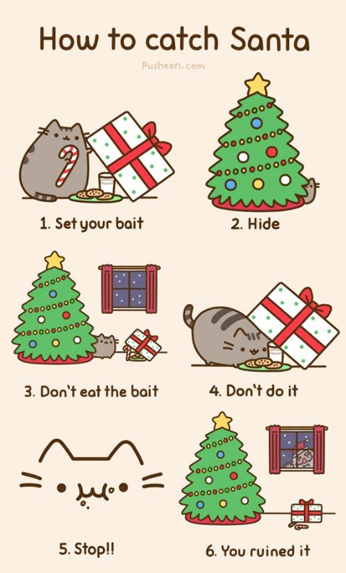 Dang it, every year!  (Original at http://pusheen.com/post/38254768792 )