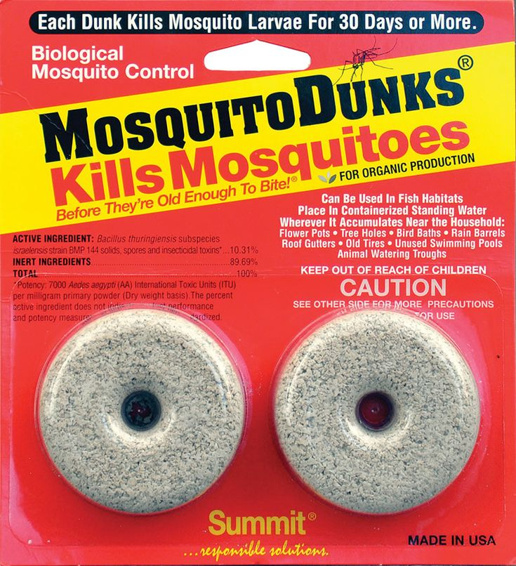 Summit Chemical Company | Mosquito and Insect Control Products – Mosquito Dunks® Good for gardening too!