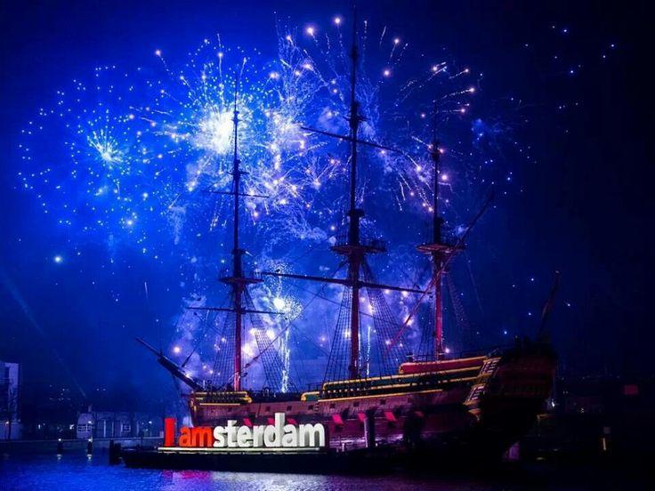 Amsterdam, Firework, New Year, Holland