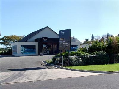 Our visitor center in Te Puke, NZ