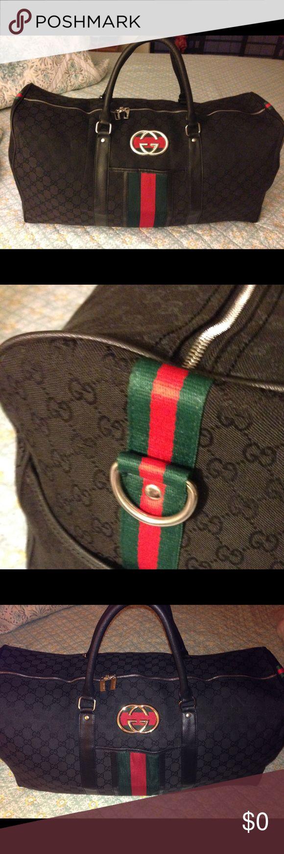 Additional Photos of Designer Inspired Travel Bag 🌸Additional Photos of Designer Inspired Gucci Travel Bag🌸 Bags Travel Bags