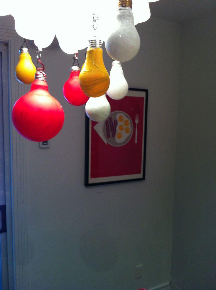 Boule De Noel Ampoules Brul Es Diy Pinterest Boules De No L Ampoule Et Boule