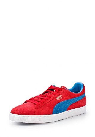 Классика от PUMA - модель Suede Classic+. Трендовые кеды и первая обувь B-boys. Детали: материал верха - замша, функциональная шнуровка, противоскользящая и износостойкая подошва из резины, модель декорирована фирменной полоской и логотипом PUMA. http://j