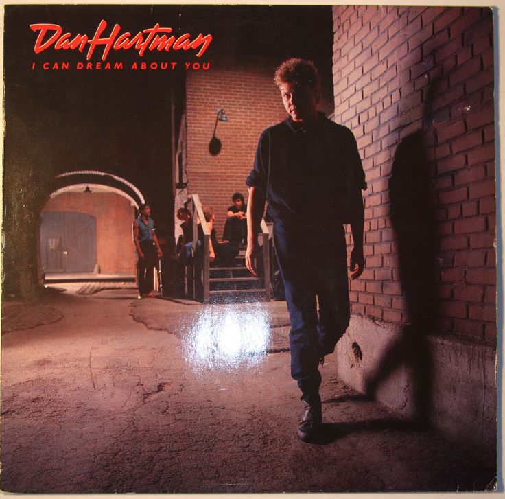 Dan Hartman I Can Dream About You Album Cover Dan