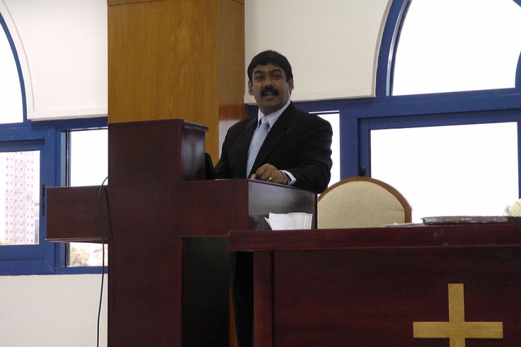 PREACHING AT MIDDLE EAST