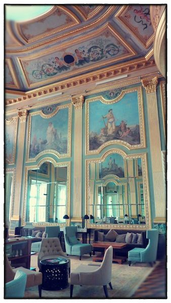 Freixo Palace hall detail