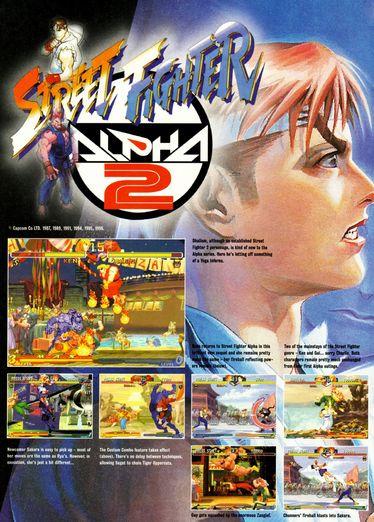 Sega Saturn - Street Fighter Alpha 2 Ad
