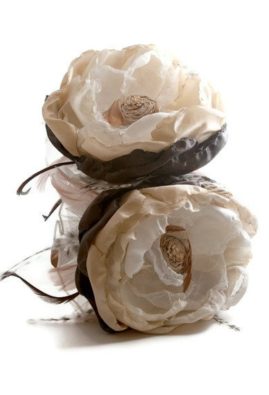 Bridesmaid Bouquet Custom Giant Flower. $67.59, via Etsy.