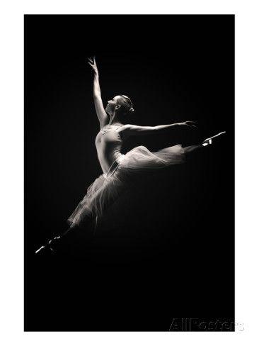 Ballet Dancer Konsttryck