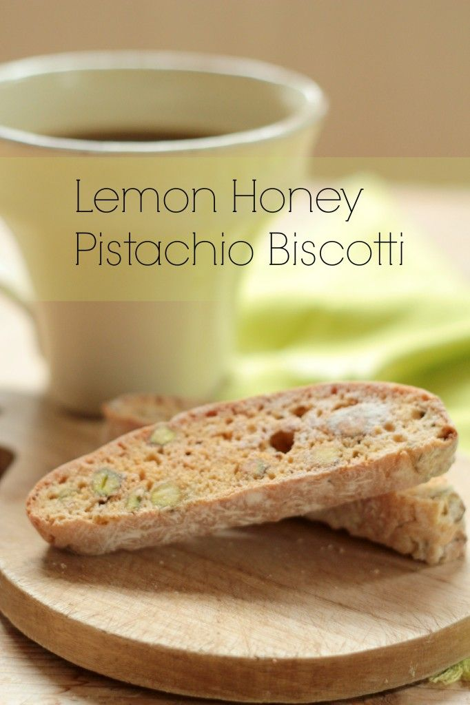 Recipe Redux Travel Snack : Lemon Honey Pistachio Biscotti