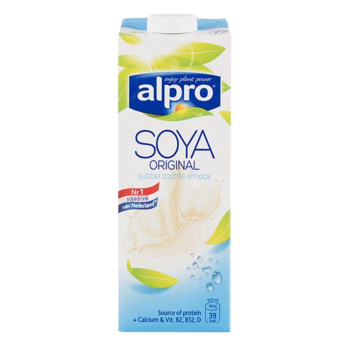 Alpro 'melk' Sojadrink original #vegan