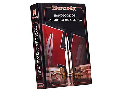 "New Hornady ""Handbook of Cartridge Reloading"" 9th Edition Reloading Manual 99239 