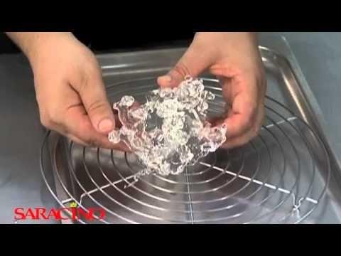 saracino tutorial sugarplus isomalto per decorazioni - YouTube