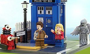 Lego signs multi-million-pound deal with BBC to create Dr Who set | Daily Mail Online