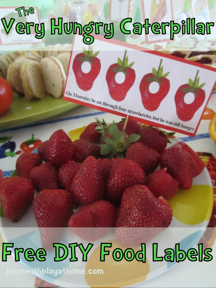 Food tasting lable EYFS