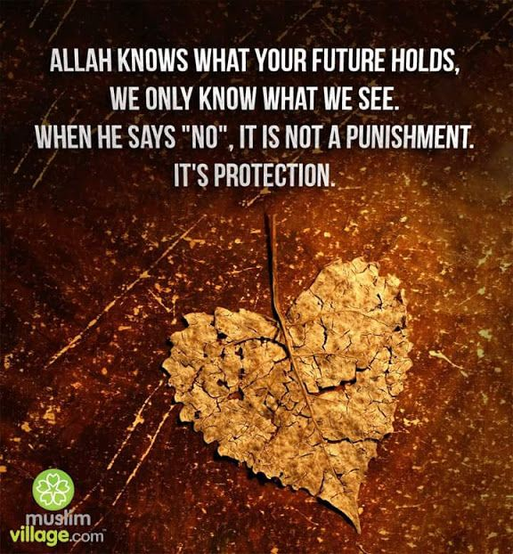 Allah Subhana Wa Ta'alaa is the best planner