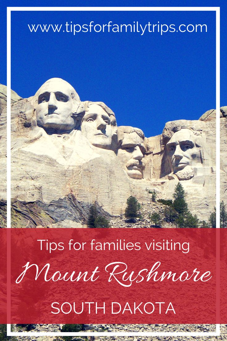 Tips for visiting Mount Rushmore National Memorial. This famous monument is far more impressive in person, and there are more things to do there than you might expect! | tipsforfamilytrips.com | South Dakota | Black Hills | summer vacation | family travel