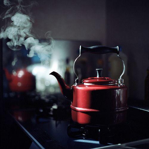 tea whistleTeas For Two, Hot Teas, Teas Time, Company Picnics, Cozy Corner, Red Teapots, Cold Day, Teas Pots, Teas Kettle