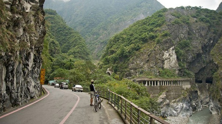 design Taroko tunnel is where the holiday