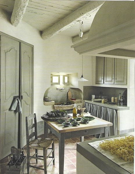 My French Country Home, French Living - Sharon Santoni: Kitchens Design, Small Window, Side House, Kitchens Ideas, Grey Kitchens, French Country, Gray Kitchens, Maison Kitchens, French Kitchens