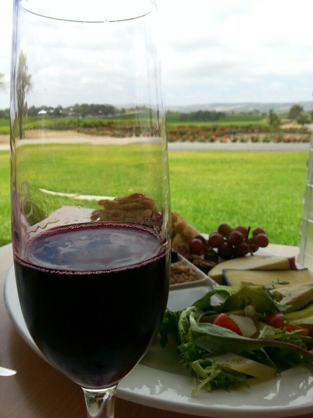 Having a great day at Leconfield winery at McLaren Vale