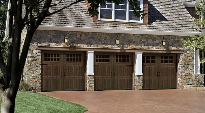 Amarr Classica Northhampton Garage Doors With Maderia