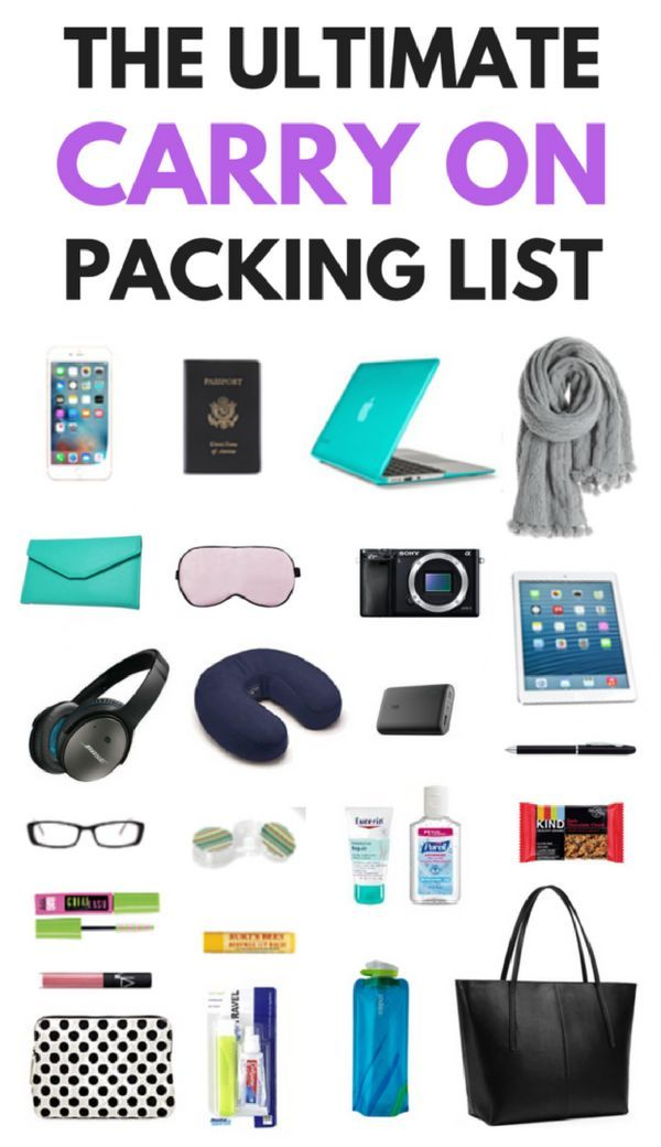 725bcdf74e What to Pack in a Carry On Bag  The Ultimate Carry On Bag Essentials List                                   Carry On Bags Essentials