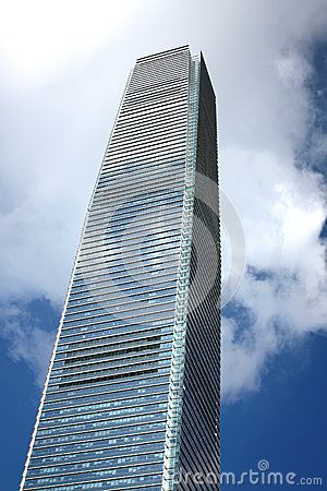 Modern building in Hong Kong by byeolsan via Dreamstime #hongkong #byeolsan