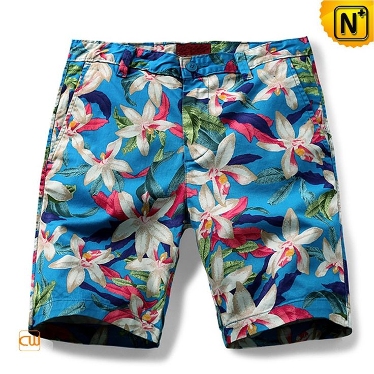 Mens Plus Size Floral Print Shorts CW140436 Light weight mens cotton shorts in all over floral print of the current collection. Knee length. Off-seam front pockets and welt back pockets.  www.cwmalls.com PayPal Available (Price: $77.89) Email:sales@cwmalls.com