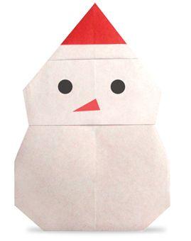 Origami Snowman2
