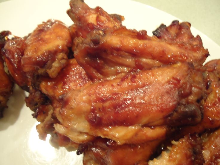 Cranberry BBQ Chicken Wings