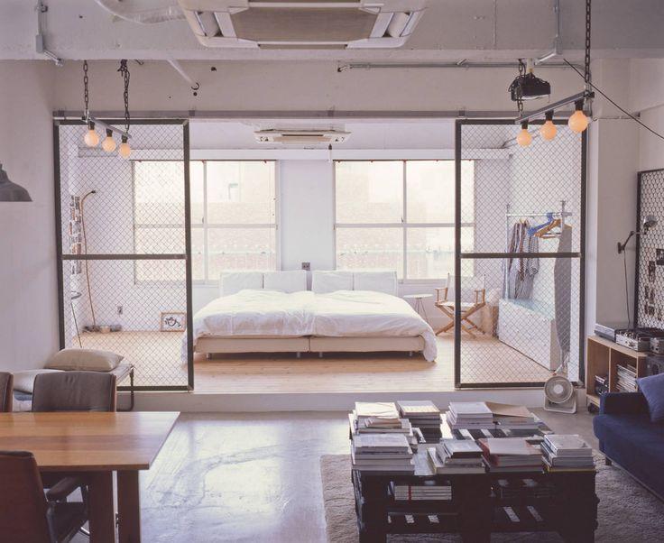Design Loft next to Tokyo Midtown - Lofts zur Miete in Minato-ku