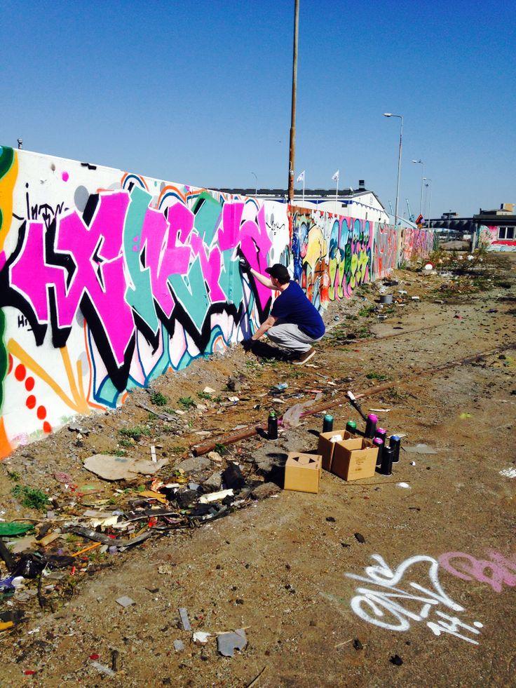 Norrköping, grafitti