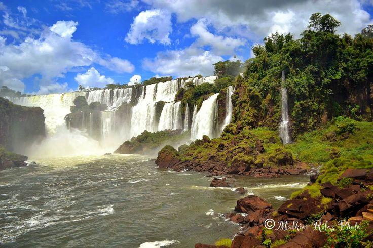 Malkior Riles Photographs: Cataratas de Iguazu. Lado Argentino. Paseo Interio...