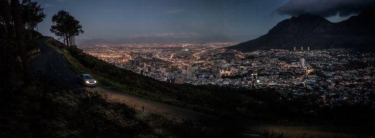 Capetown Landscape by Dominik Mentzos #landscape #capetown #night