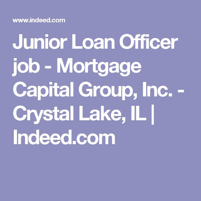 Junior Loan Officer job - Mortgage Capital Group, Inc - Crystal - indeed com resume search